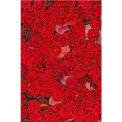 červené flitry 8 mm rovné 6726-163 bal. 3 g (cca200ks)