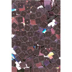 růžové flitry 6 mm čtvercové rovné 20900-017 bal. 3 g (cca240ks)