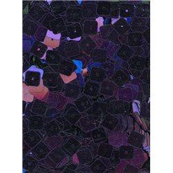 fialové flitry 6 mm čtvercové rovné 20900-832 bal. 3 g (cca240ks)