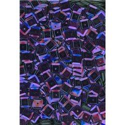 Flitry čtverec, - fialové, miska 6 mm 20915-832