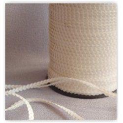 bílé flitry 5 mm (0,5 cm) na niti 950-019 bal. 1 m
