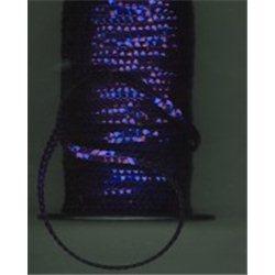 fialové flitry 5 mm (0,5 cm) na niti 950-832 bal. 1 m