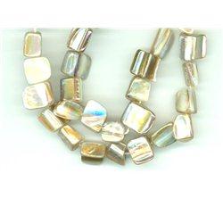 Perleťové korálky - 1 šň.  45 ks   L0806