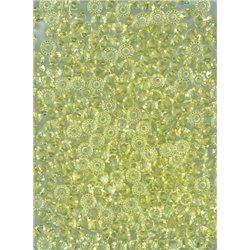 M.C. rondelky 3x5 mm, barva 80100 - žlutá ,  bal. 1 grs (144 ks)