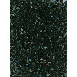 M.C. sluníčko 4 mm, barva černá,  bal. 1 grs (144 ks) bal. 1 grs  144 ks