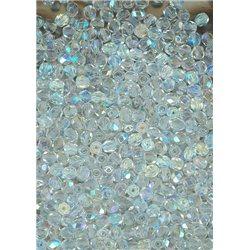 Korálky skleněné, broušené, 151-19-001 4-0001/AB
