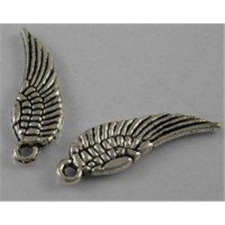 Přívěsek, křídla 4ks L2184
