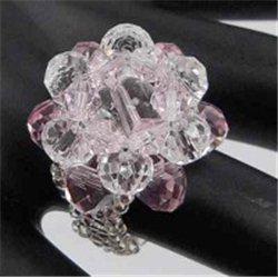 Prsten, prstýnek  z korálků L2660