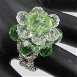 Prsten, prstýnek z korálků L2659