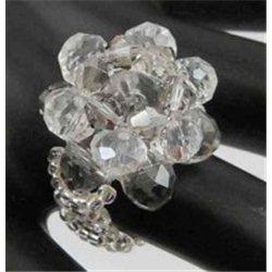 Prsten, prstýnek z korálků L2668