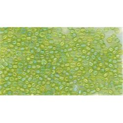 Rokail (rokajl) sv. zelená, vel. 9/0 (2,7 mm) č. 113S balení 50g 50 g