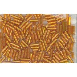 Rokail (rokajl) Bugles (čípky) oranžová, (5-7 mm) č. 159S balení 50g 50 g