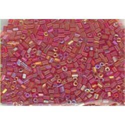 Rokail (rokajl) Bugles (čípky) tm. růžová, (2-2,5 mm) č. 170S balení 50g 50 g