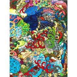 Flitry MIX tvarů a barev Párty 6191-099