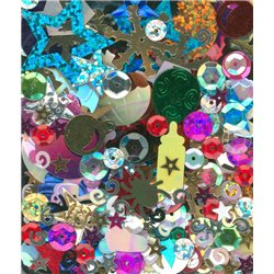 Flitry MIX tvarů a barev 2780-616 Flitry MIX tvarů a barev 5 g