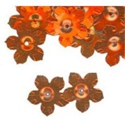 Flitry - květina s dírkou 6778-634  květina 5 g