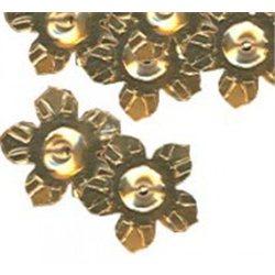 Flitry - květina s dírkou 6778-196  květina 5 g