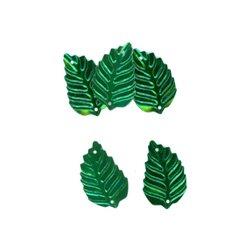 Flitry - zelený lístek 326-011  lístek 5 g