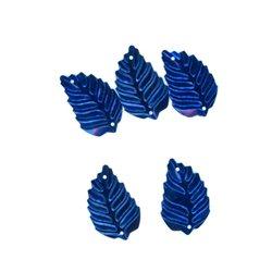 Flitry - modrý lístek 326-312  lístek 5 g
