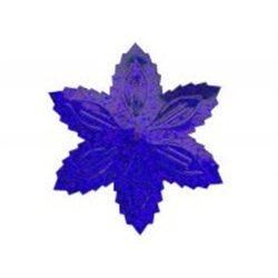 Flitry - modrá hvězda s dírkou 1433-184  vánoční hvězda 5 g