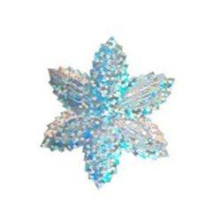 Flitry - stříbrná hvězda s dírkou 1433-177  vánoční hvězda 5 g