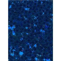 Flitry - drobné modré hvězdičky 6689-312  hvězdička 5 g