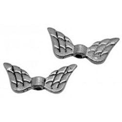 Korálek kovový, křídla 6 ks L2696