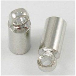 Koncovka kovová plochá 10ks L2725