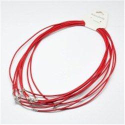 Kožený náhrdelník L2759