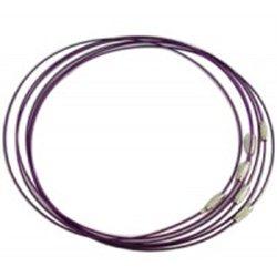 Náramek - Ocelové lanko se zapínáním L2756 G