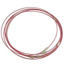 Náramek - ocelové lanko se zapínáním L2756C