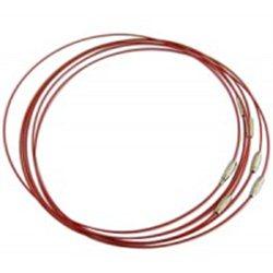 Náramek - ocelové lanko se zapínáním L2756B