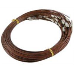 Náramek - ocelové lanko se zapínáním L2756H