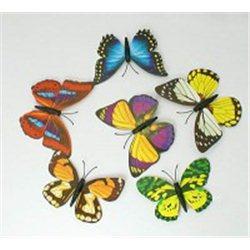 Dekorační motýl s magnetem  L2147