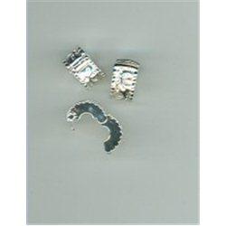 Korálek kovový stopper zarážka L1047