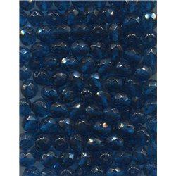 Broušené korálky 8 mm 60080 tm aqua bal. 50 ks