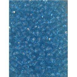 Broušené korálky 6 mm 60010 aqua bal. 120 ks