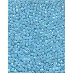 Korálky skleněné broušené 151-19-001 3 mm 61000