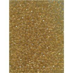 Korálky broušené, ohňovky 3 mm