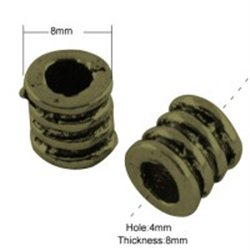 Kovový korálek L2921