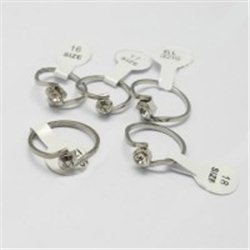 SLEVA 30% Prsten z nerezavějící oceli L2972
