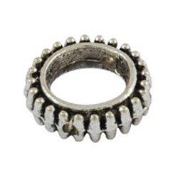 Korálek kovový, kroužek 4ks L3097