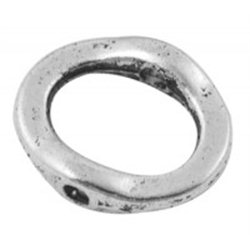 Korálek kovový, kroužek 4ks L3102