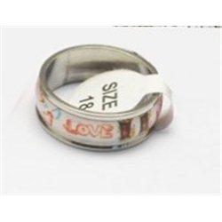 Prsten z nerezavějící oceli L2975 17 mm průměr