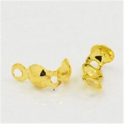 Kalota- kovový díl zlato, L3329