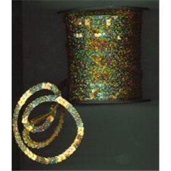 flitry čtverečky 6 mm (0,6 cm) na niti 20501-183 bal. 1 m