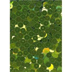 Flitry zelené, rovné 6 mm 6709-Z-6326