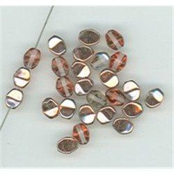 Pohanka - mačkané korálky , 111-54-805 5mm 00030-27101, balení 10g balení 10 g , orientačně 126 ks