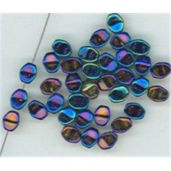 Pohanka - mačkané korálky , 111-54-805 5mm 23980-21435 , balení 10g balení 10 g , orientačně 126 ks
