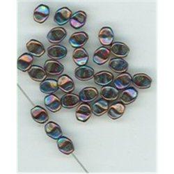 Pohanka - mačkané korálky , 111-54-805 5mm 23980-15781, balení 10g balení 10 g , orientačně 126 ks